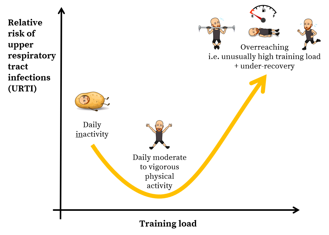 Overreaching, overtraining, under-recovery and immune function. Thomas Solomon at Veohtu.